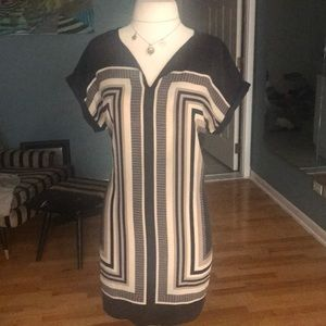 EUC CYNTHIA ROWLEY SILK TUNIC DRESS